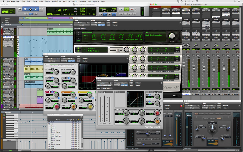 Pro Tools First - The free version of Pro Tools