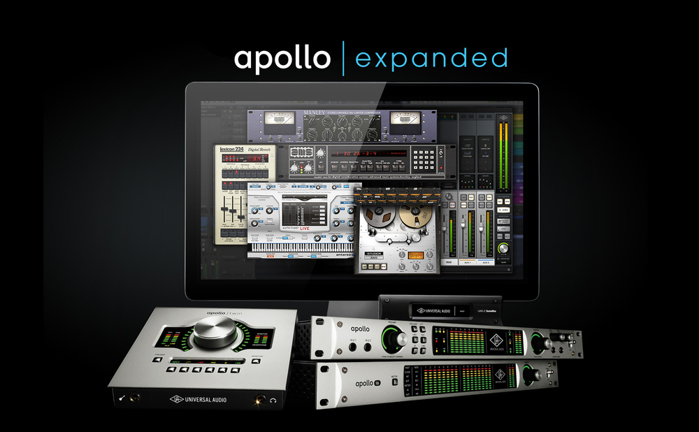 Universal Audio Apollo Expanded Announced