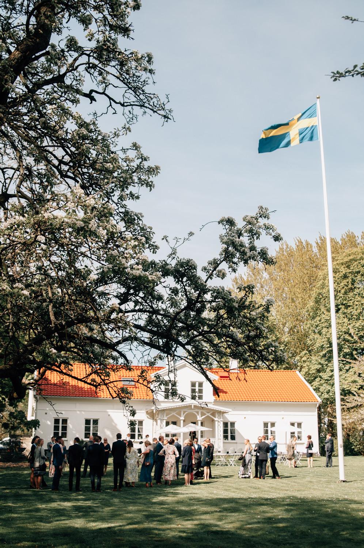 Bröllop på Ulricedahlsgården