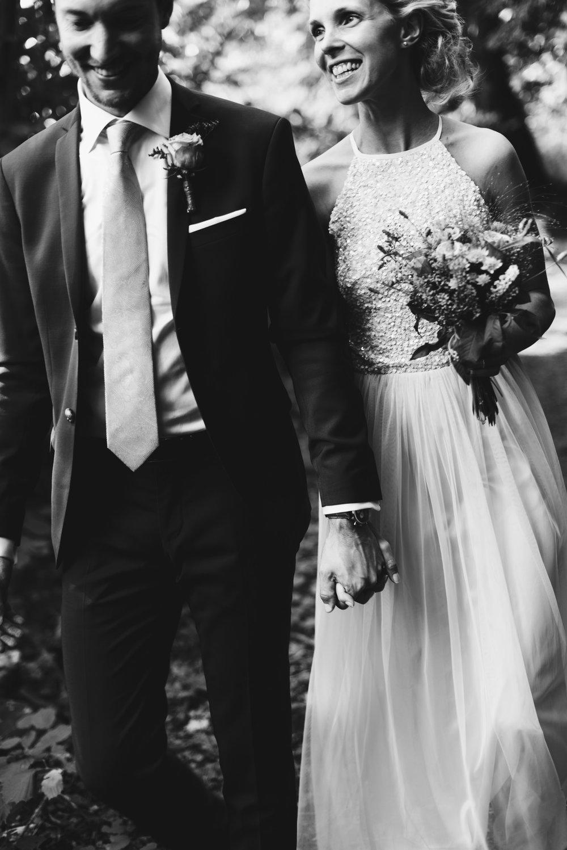 Tidlöst bröllopsporträtt