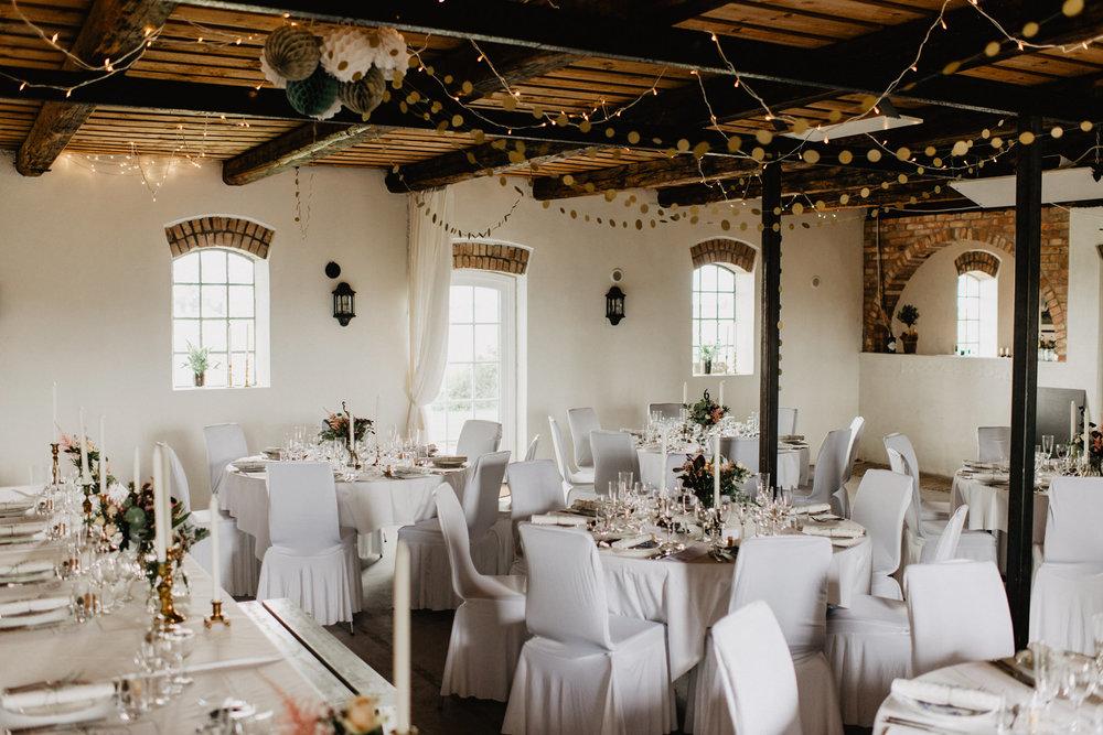 Wedding venue design inspiration
