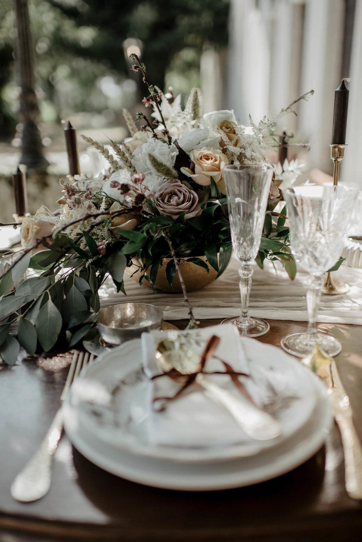 Wedding table decor, destination wedding in Portugal