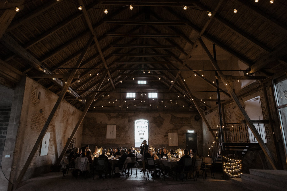 Barn wedding at MårtenPers Källa, Sweden