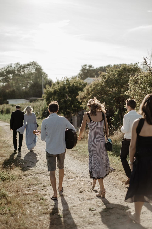Understated archipelago wedding in Sydkoster, Sweden