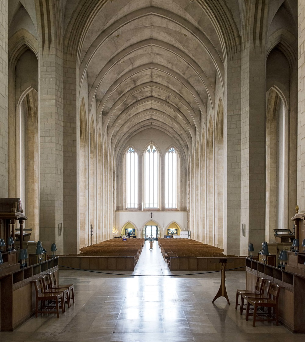 Sacred Spaces - Guildford Cathedral, Surrey. — Will Scott