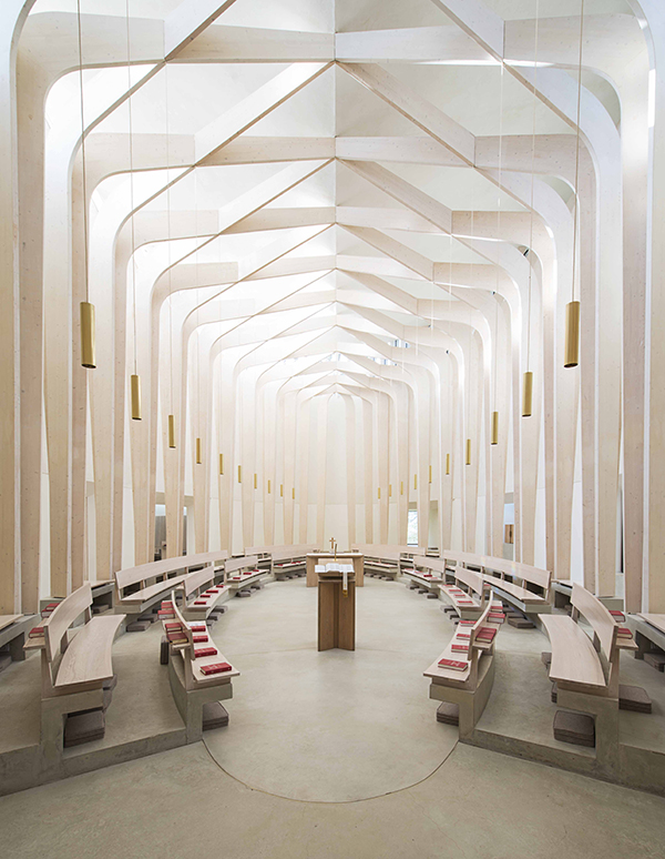Bishop Edward King Chapel / Niall Mclaughlin Architects