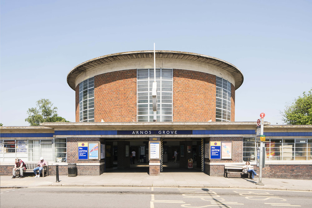 The Architecture of the Underground / Arnos Grove Station.