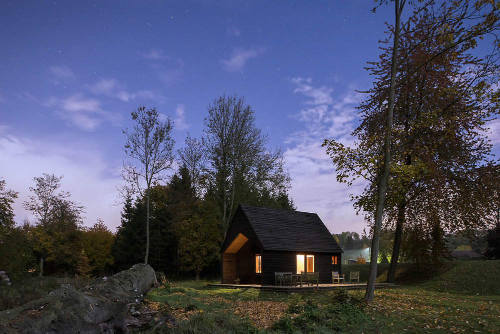 The Woodland Cabin - De Rosee Sa.