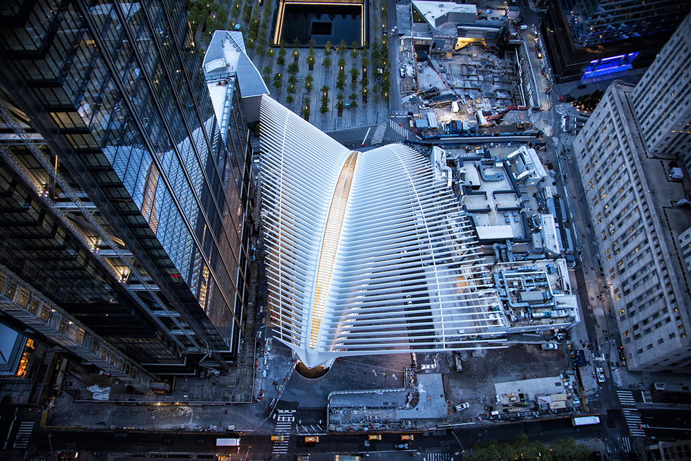 The World Trade Centre Oculus / Santiago Calatrava.