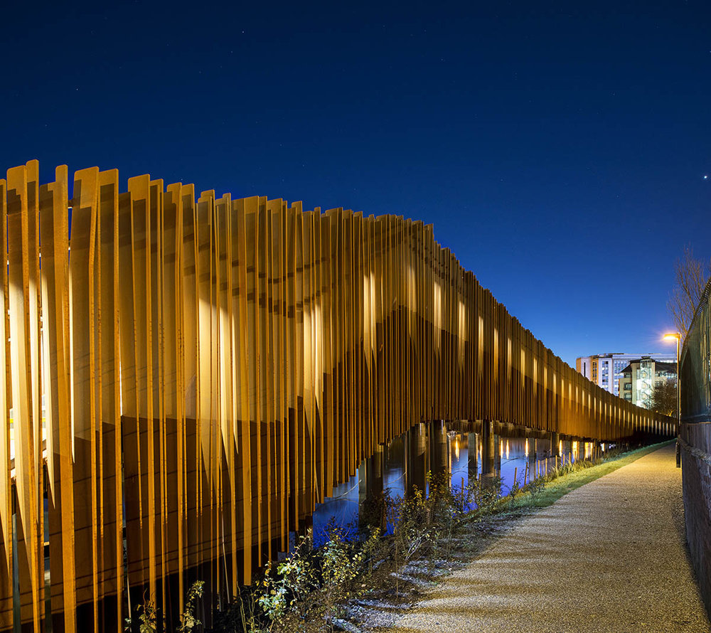 Christchurch Bridge / Design Engine Architects.