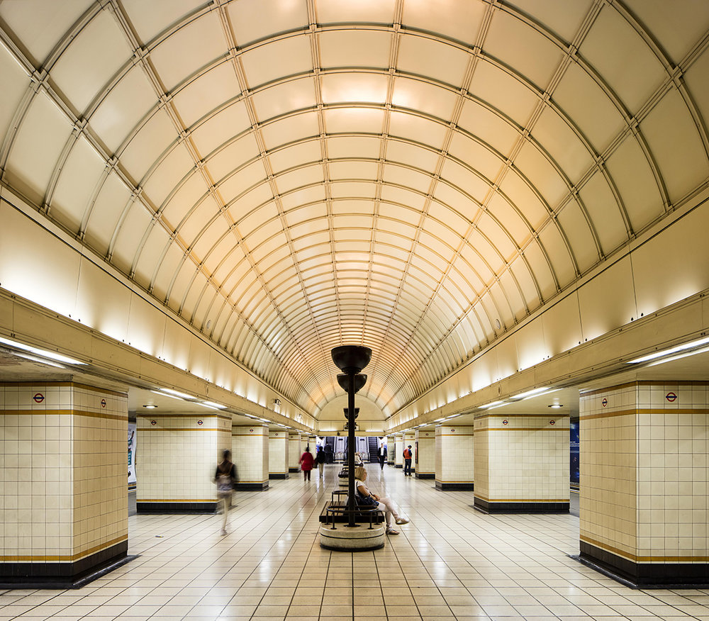 The Architecture of the Underground / Gants Hill Station.