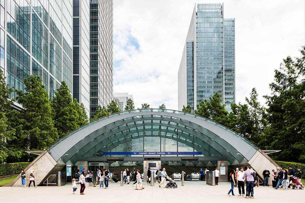 CANARY WHARF / JUBILEE LINE / ARCHITECT: FOSTER & PARTNERS