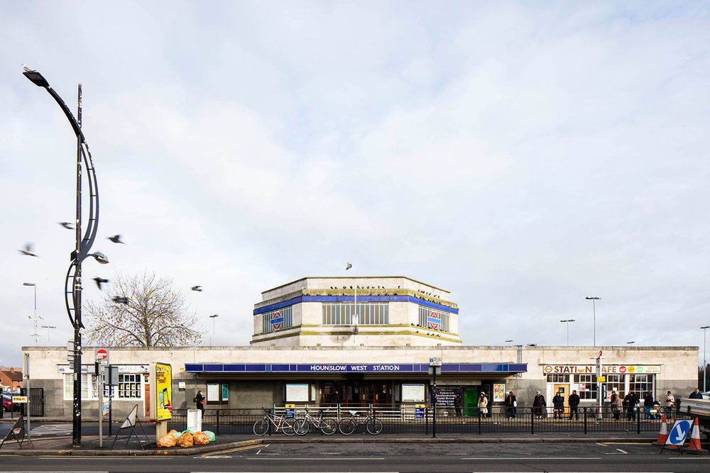HOUNSLOW WEST / PICCADILLY LINE / ARCHITECT: CHARLES HOLDEN