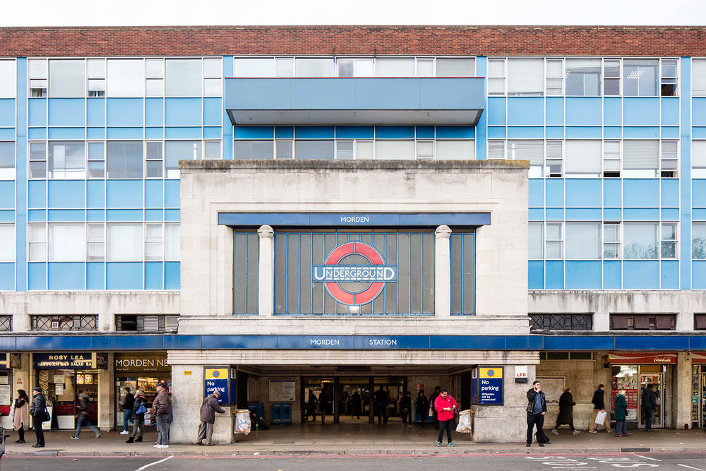 MORDEN / NORTHERN LINE / ARCHITECT: CHARLES HOLDEN