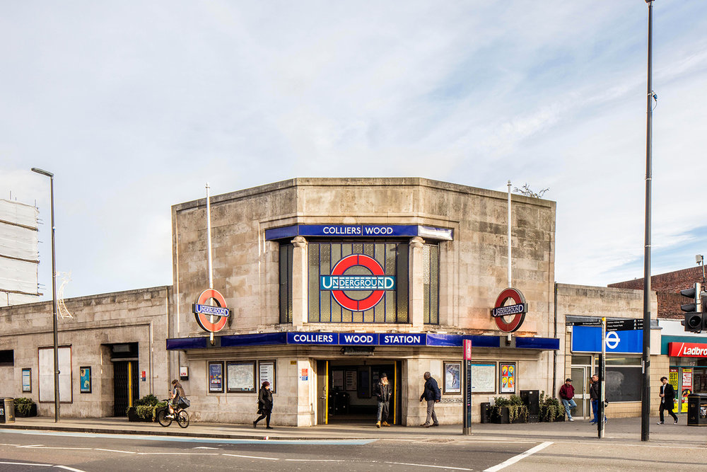 COLLIERS WOOD / NORTHERN LINE / ARCHITECT: CHARLES HOLDEN