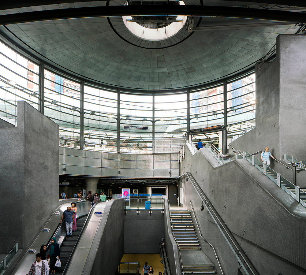 CANADA WATER / JUBILEE LINE / ARCHITECT: JPEL & BURO HAPPOLD