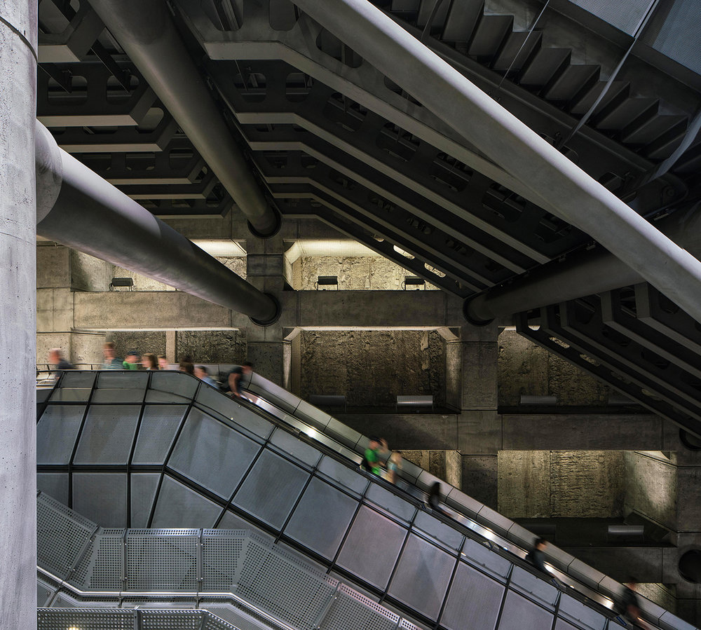 WESTMINSTER / CIRCLE, DISTRICT & JUBILEE LINES / ARCHITECT: HOPKINS ARCHITECTS