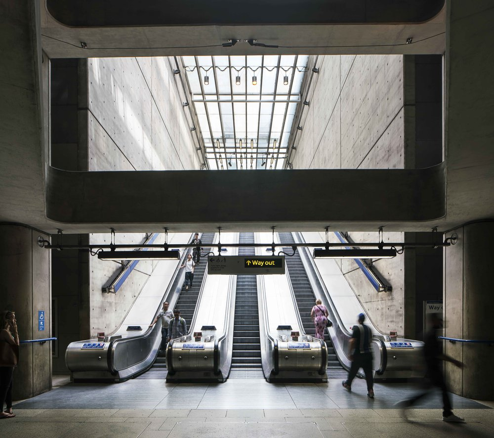 BERMONDSEY / JUBILEE LINE / ARCHITECT: IAN RITCHIE ARCHITECTS