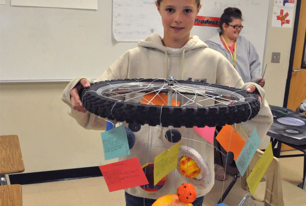 Hutto Middle School — Amazing Space STEM Projects