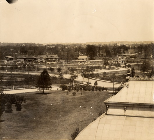 University Heights #1, looking north from the Woman's Magazine Building c. 1908