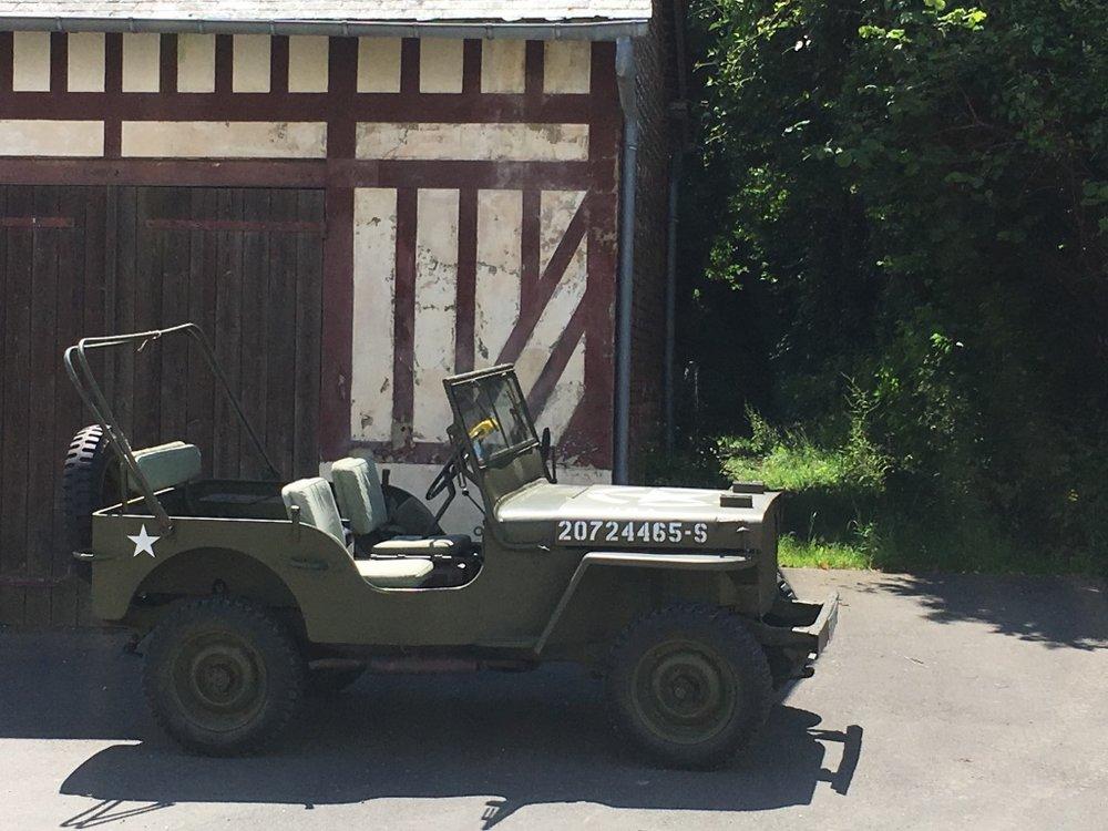 Le Manoir des Impressionnistes 1941 Willys Jeep.jpg