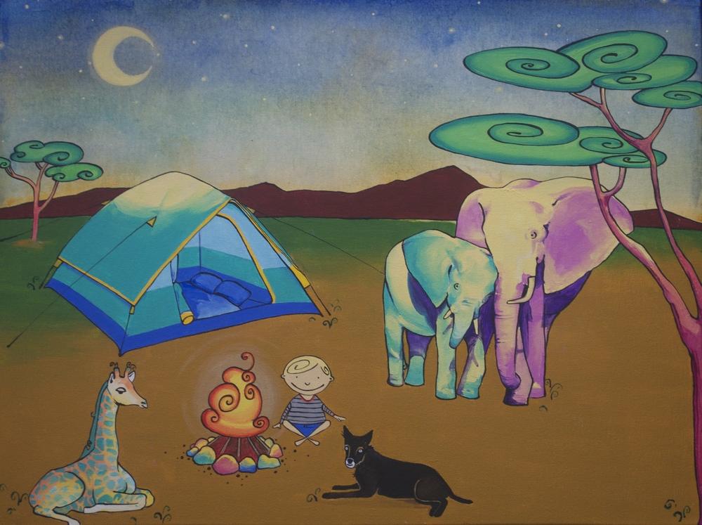Little Safari Camping Bean