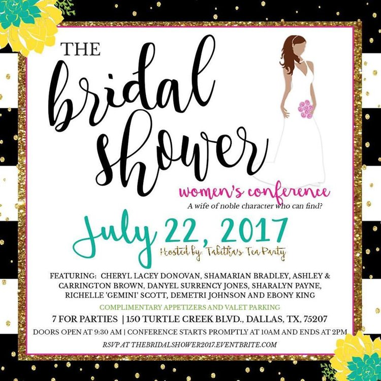 The Bridal Shower- Womens Conference (For Singles, Dating & Married) —  Ashley Empowers