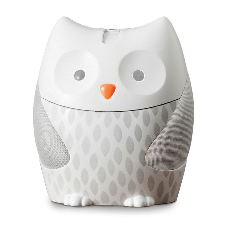 Skip Hop Nightlight Soother Moonlight & Melodies Owl - a nightlight and a sound machine all in one.