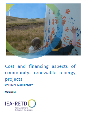 Cost and financing aspects of community renewable energy projects