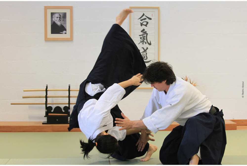 Kokyu nage - movimento de re-direcionamento do ataque