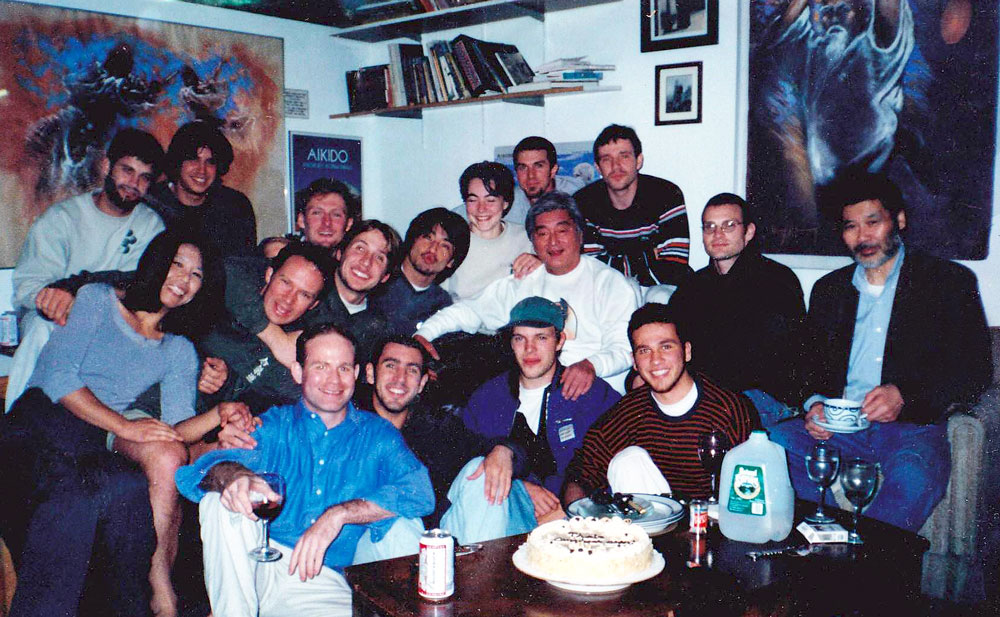 Uchi-deshis • 2000 -  Luis // Kim // Vincent // Toshi // Ivan // Rafael // Eduardo // Brian // Nori // Thais // John // Kevin // Guntar // Gabriel.