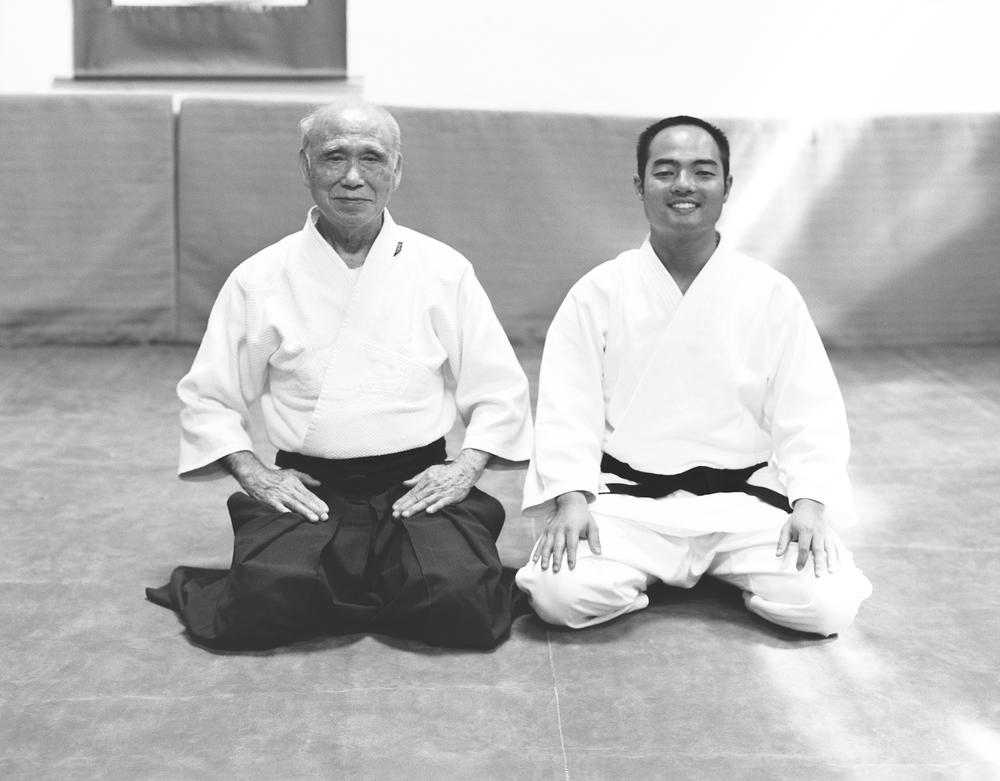 Ono Sensei e Igor Koga