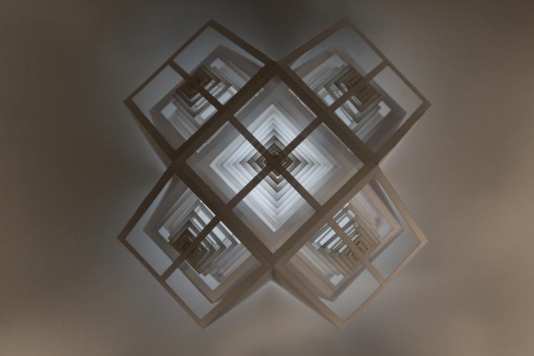 Paper lamp experiment