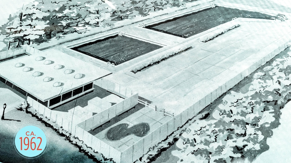 1962 RIVERSIDE SWIM CLUB RENDERING