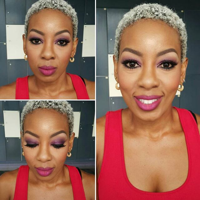 Glammed up the absolutely gorgeous Jane Mukami (@fitkenyangirl) yesterday. She's got such lovely eyes!!! #kenyanmua #kenyanmakeupartist #makeupartist #makeupbybellesaafrica #bellesaafrica #powerofmakeup #cocoaswatches