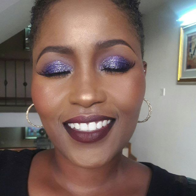 Just beat @lydiahnderere 9ja style during the @houseoftara_intl Nairobi Masterclass. Learned so much todqy- thanks Rhema + team!! I have so much to learn though.... Got to learn to blend better 😢😢😢😭😭😭