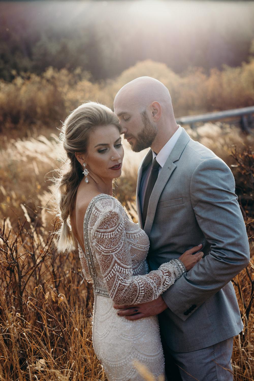 Colorado wedding photographed by Dana Jensen.