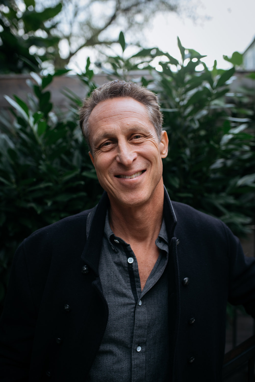 Portrait of Mark Hyman commissioned by One Commune, shot by Dana Jensen.
