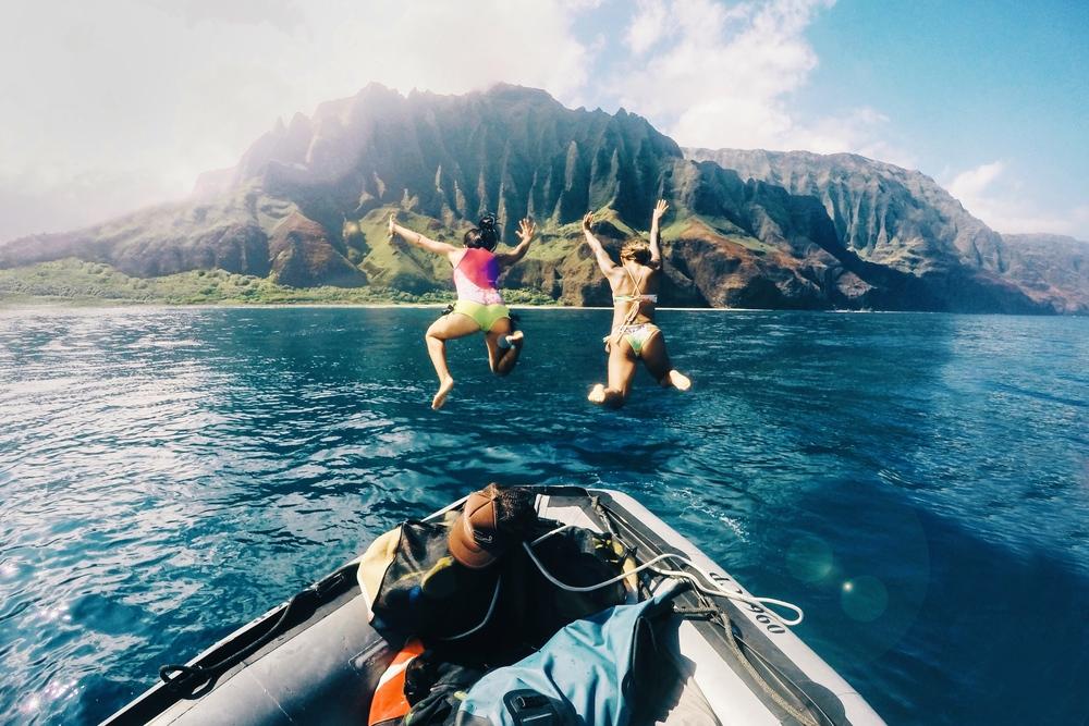 Go Blue Adventures Nā Pali Coast Tour