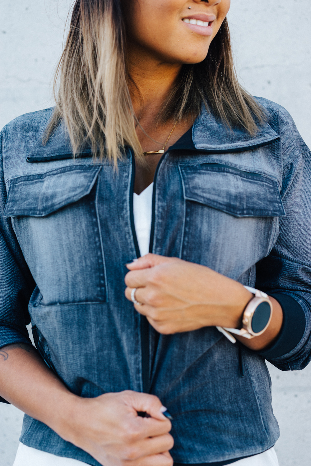 lucy Activewear indiGO Trucker Jacket