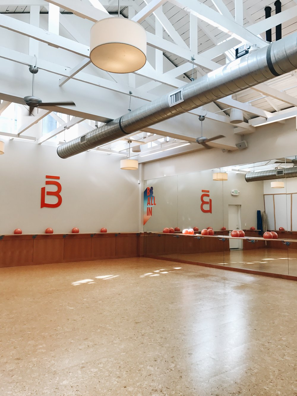barre3 Willow Glen location in San Jose, CA which also includes day care, if you need to bring your kiddies in during your sweat session.