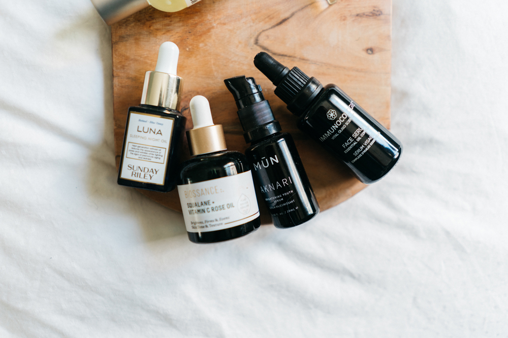 FACE OILS - MY LATEST OBSESSION