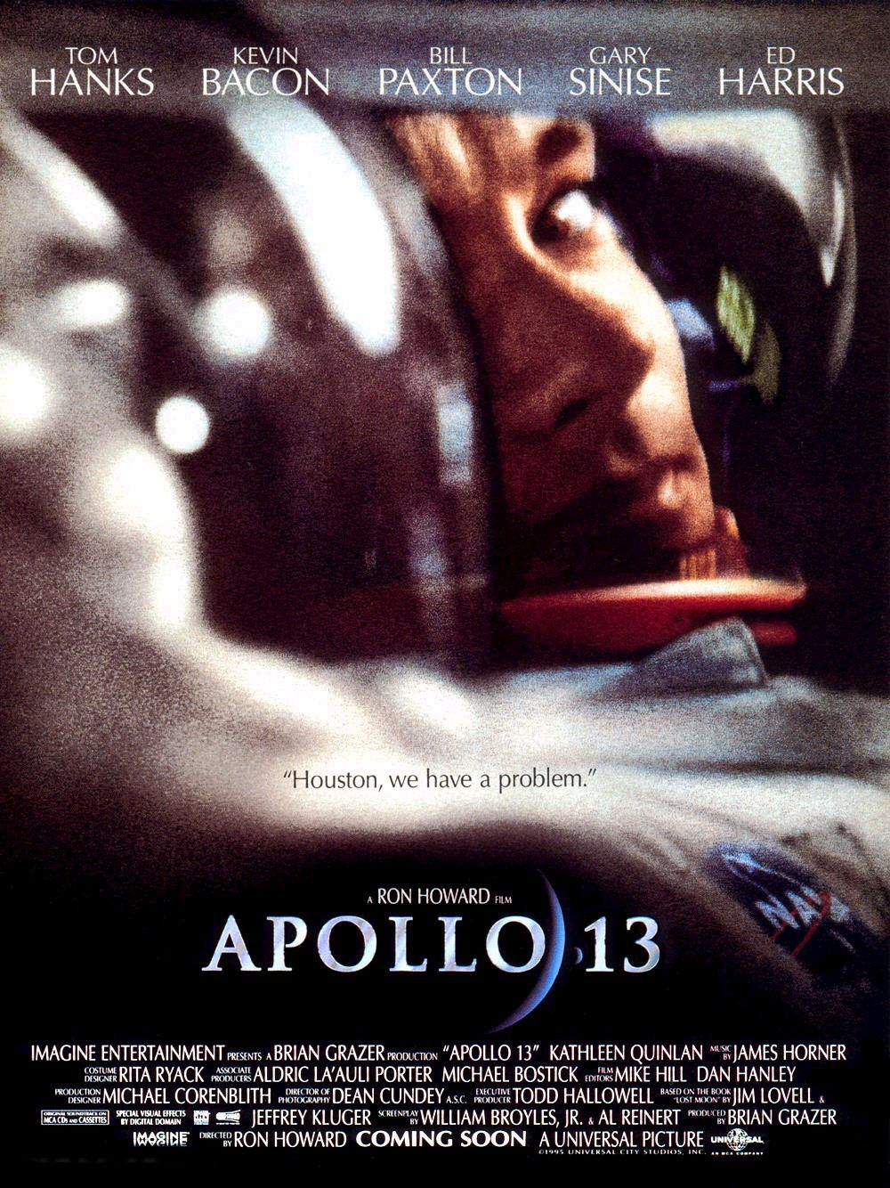 How Angry Men is like Apollo 13: Rocket scientists race against the clock to work out solutions with human lives on the line. Budget: $65M Gross: $355M