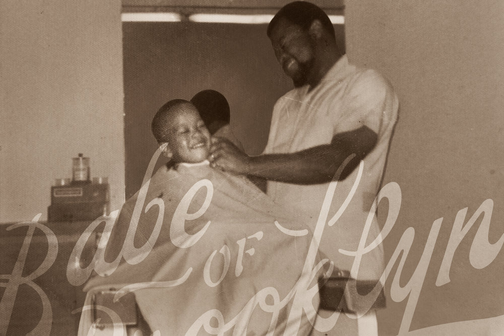 At Uncle John's Barbershop Boston 1970s