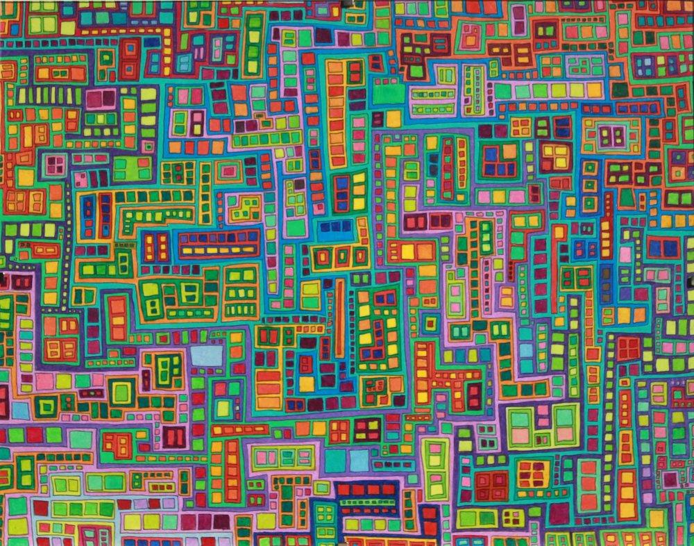Tiled City