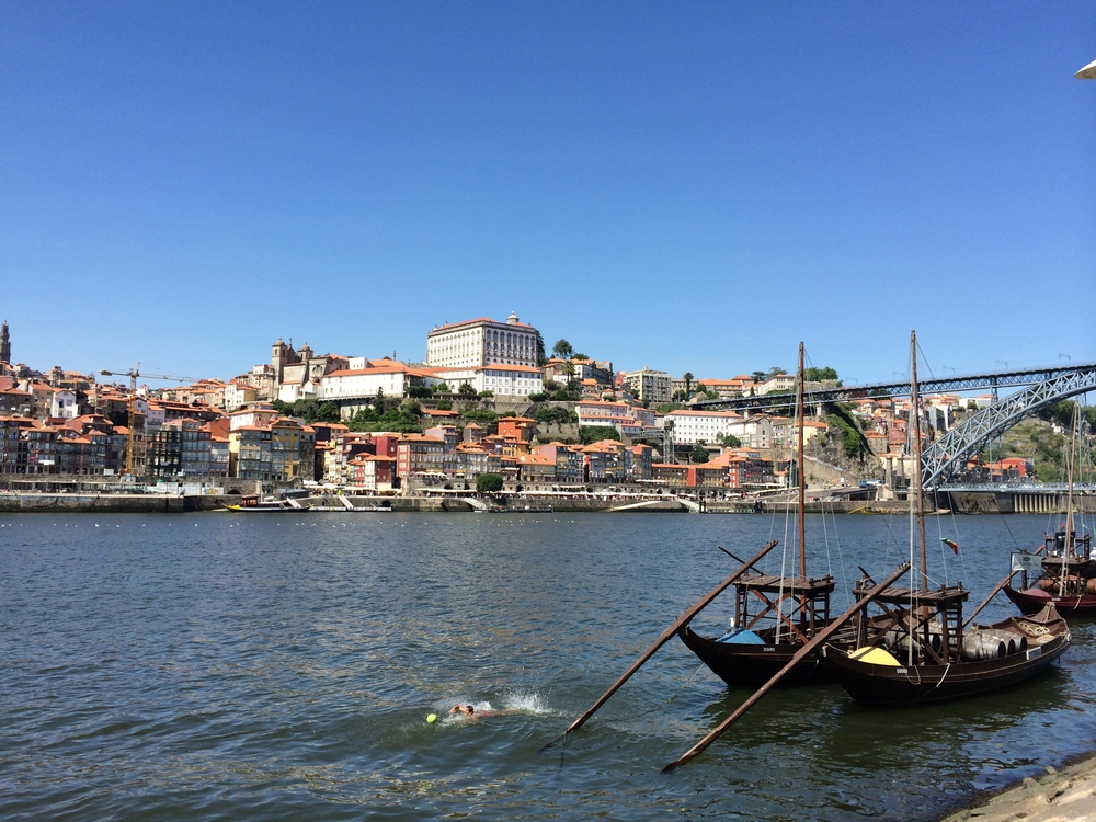 Another view of Porto from Gaia.