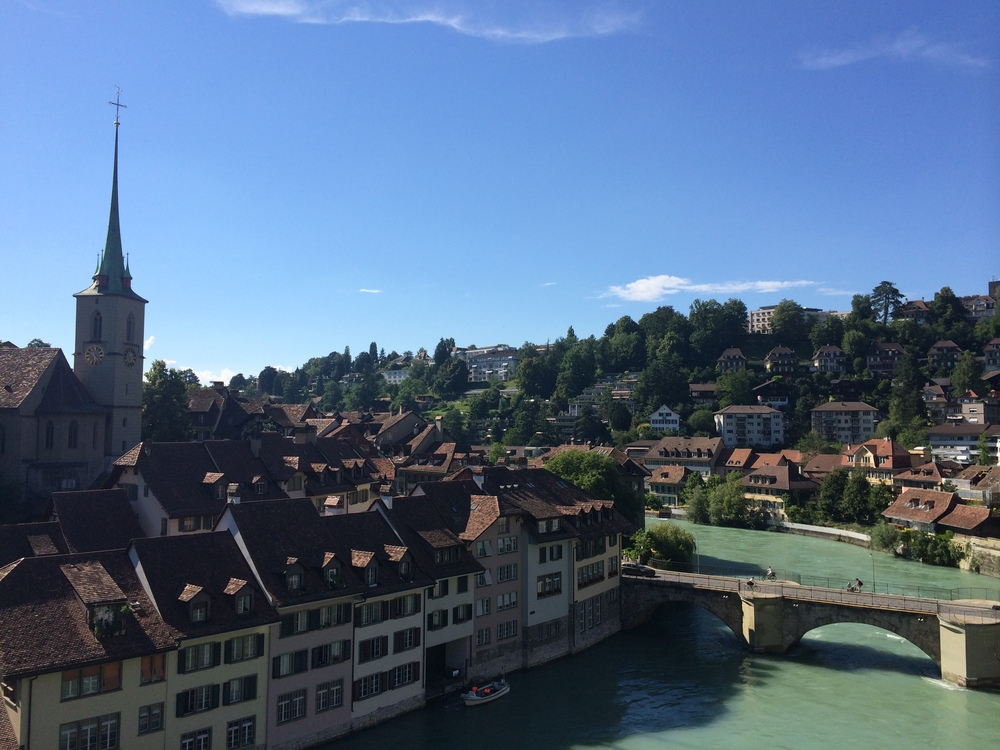 You can't take a bad picture in Bern... it just isn't possible! This is the view from Nydeggbrücke.