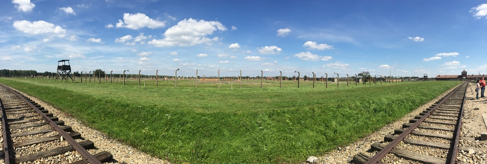 Present day Auschwitz is a far cry from the disparaging pictures I remember seeing in textbooks.