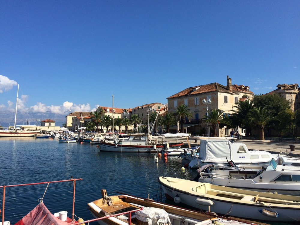 The old port of Supetar. Ever city I visit is so remarkably picturesque!