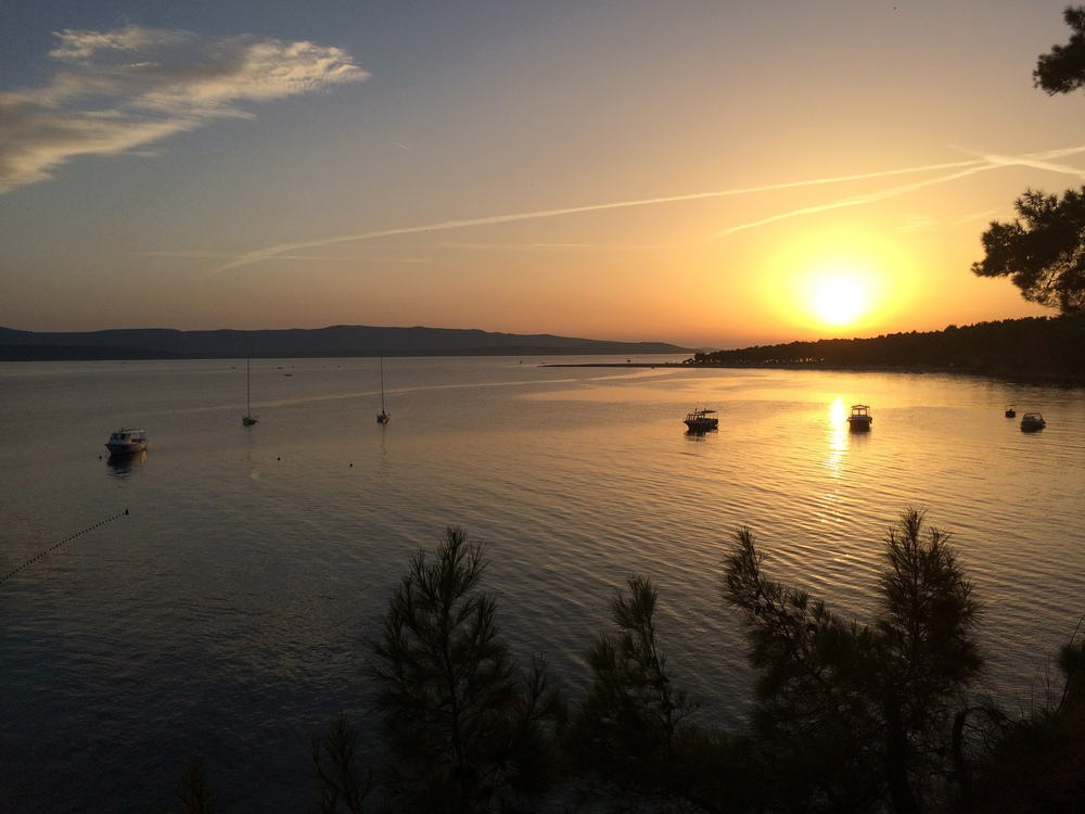 I don't think there is such a thing as a bad sunset here in Croatia.